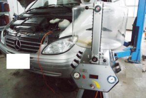 Automatikgetriebe Ölspülung Mercedes Viano 639